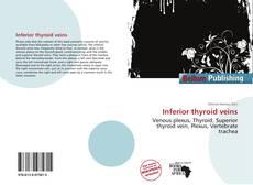 Copertina di Inferior thyroid veins
