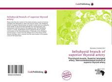 Portada del libro de Infrahyoid branch of superior thyroid artery