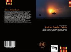 Copertina di African Golden Oriole