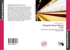 Bookcover of Daegok–Sosa–Wonsi Line