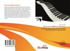 Giovanni Maria Nanino kitap kapağı
