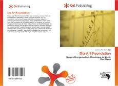 Portada del libro de Dia Art Foundation