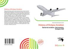 Borítókép a  History of Eclipse Aviation - hoz