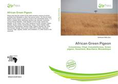 Bookcover of African Green Pigeon