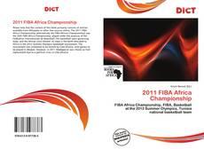 Capa do livro de 2011 FIBA Africa Championship