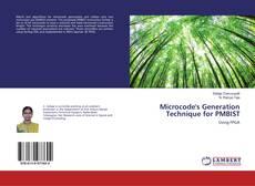 Copertina di Microcode's Generation Technique for PMBIST