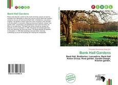 Bookcover of Bank Hall Gardens