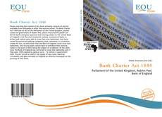 Bookcover of Bank Charter Act 1844