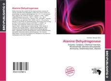 Buchcover von Alanine Dehydrogenase