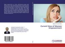 Portada del libro de Current View of Women Empowerment