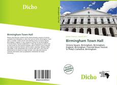 Bookcover of Birmingham Town Hall