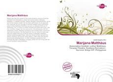 Bookcover of Marijana Matthäus