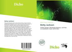 Couverture de Betty Jackson