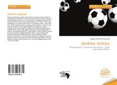 Capa do livro de Jérôme Valcke