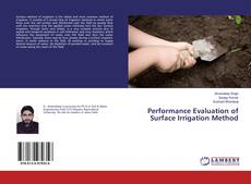 Обложка Performance Evaluation of Surface Irrigation Method