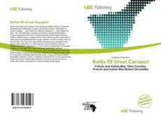 Battle Of Great Cacapon的封面