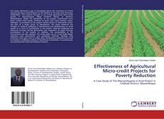 Bookcover of Effectiveness of Agricultural Micro-credit Projects for Poverty Reduction