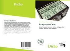 Banque du Caire kitap kapağı