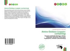 Bookcover of Amine Oxidase (copper-containing)