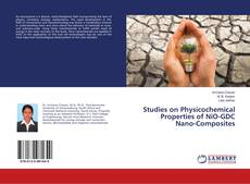 Capa do livro de Studies on Physicochemical Properties of NiO-GDC Nano-Composites