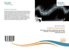 Buchcover von Andriy Fedorenko