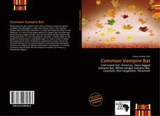 Bookcover of Common Vampire Bat