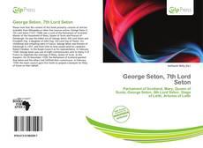 Buchcover von George Seton, 7th Lord Seton