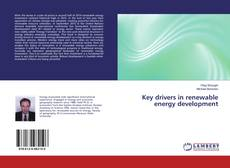 Bookcover of Key drivers in renewable energy development