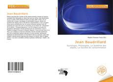 Bookcover of Jean Baudrillard