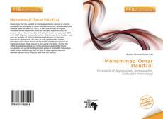 Mohammad Omar Daudzai的封面