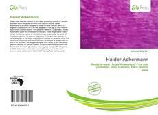 Portada del libro de Haider Ackermann