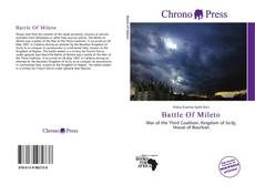 Bookcover of Battle Of Mileto