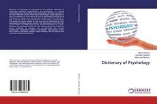 Dictionary of Psychology kitap kapağı
