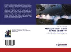 Buchcover von Management of in-situ surface collections