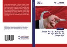 2000'li Yıllarda Türkiye'de Cari Açık Sorunu ve Bileşenleri kitap kapağı