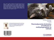 Bookcover of Thermodynamics & kinetics of trifluoro-2-methyoxypropane vs radicals