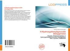 Bookcover of 4-Hydroxyphenylpyruvate dioxygenase
