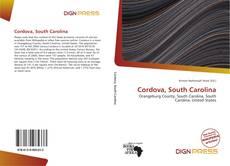 Portada del libro de Cordova, South Carolina