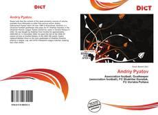 Capa do livro de Andriy Pyatov