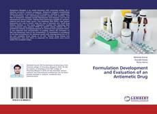 Copertina di Formulation Development and Evaluation of an Antiemetic Drug