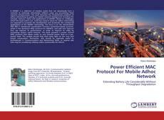Capa do livro de Power Efficient MAC Protocol For Mobile Adhoc Network