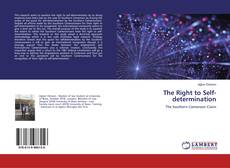 Bookcover of The Right to Self-determination