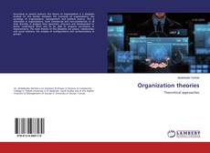 Capa do livro de Organization theories