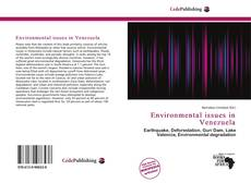 Bookcover of Environmental issues in Venezuela