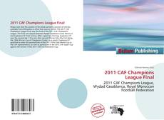 Bookcover of 2011 CAF Champions League Final
