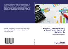 Couverture de Group of Companies and Consolidated Financial Statements