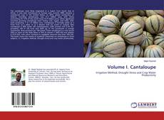 Couverture de Volume I. Cantaloupe