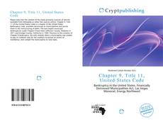 Bookcover of Chapter 9, Title 11, United States Code