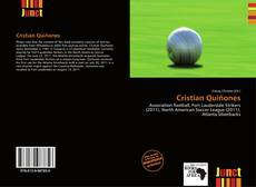 Bookcover of Cristian Quiñones