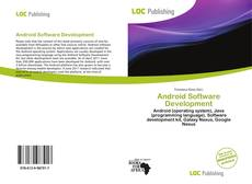 Portada del libro de Android Software Development